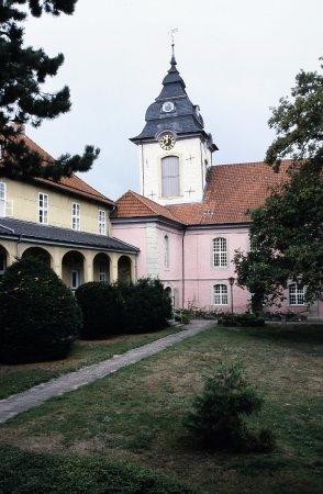 Salzgitter, Alemania: Stiftskirche Innenhofansicht