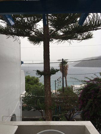 Kapsalion, Hellas: View from our little balcony