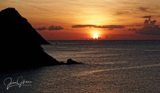 Cap Estate, St. Lucia: Sunset from the Room
