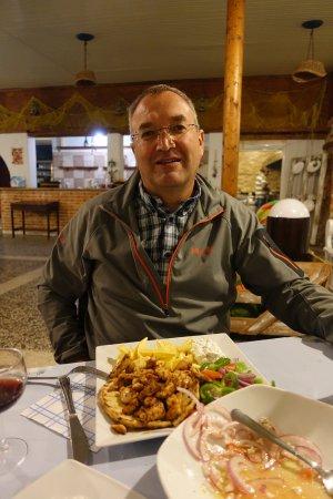 Gennadi, اليونان: Giros with french fries