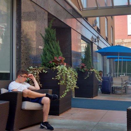 Holiday Inn Express New York City - Chelsea: Potico