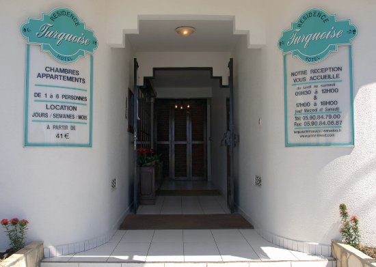 Residence Turquoise - Primeahotels Guadeloupe: Entrée Résidence Turquoise Guadeloupe