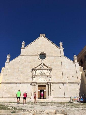 San Domino, Italy: S. Nicola, Abbazia S. Maria facciata principale