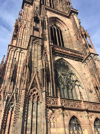 Cathedrale Notre Dame de Strasbourg: Outside and inside the cathedral