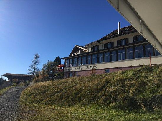 Rigi Kaltbad, Sveits: The front
