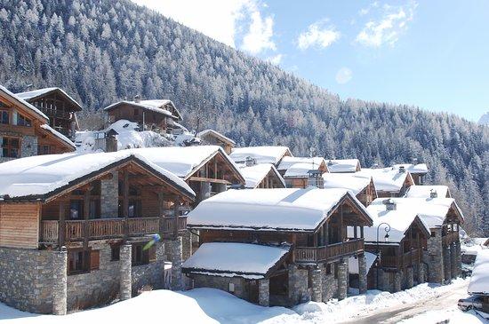 Savoie, Frankrike: Les maisons à colonnes