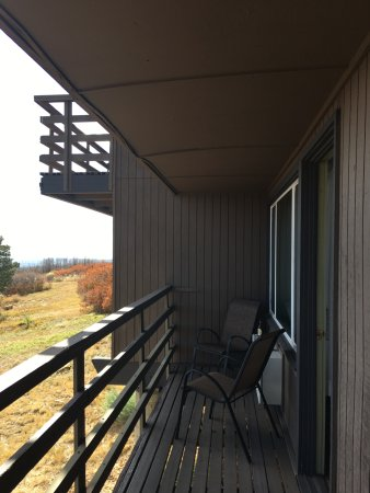 Far View Lodge: Balcony With A View