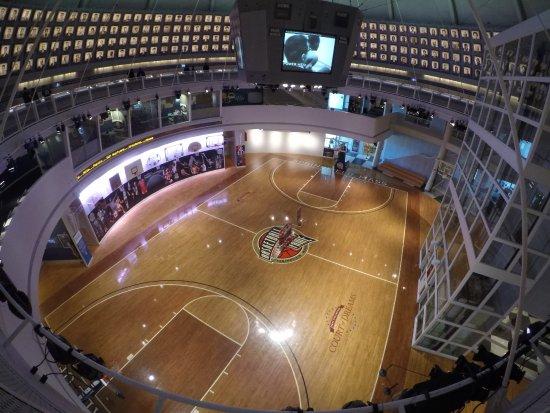 Vista Interior Billede Af Basketball Hall Of Fame Springfield Tripadvisor
