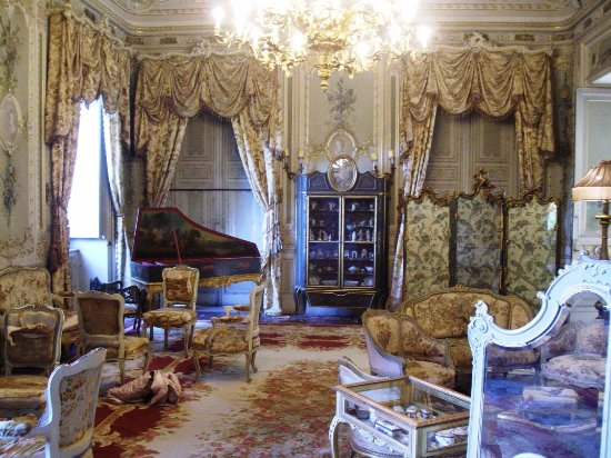 Villa Malfitano: Salottino!