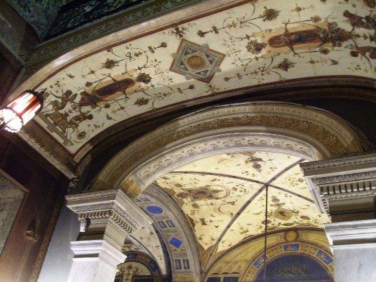Decorazioni soffitto picture of villa malfitano palermo - Decorazioni soffitto ...