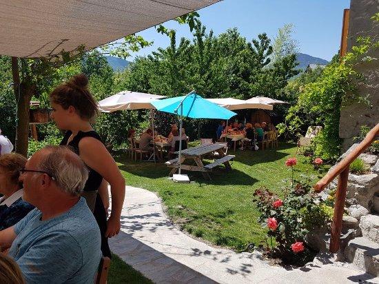Valbonnais, Frankrijk: une partie de la terrasse