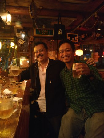 Kikugawa, Japan: Good beer and cheer