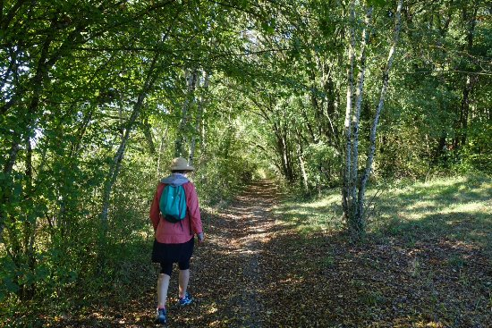 Saussignac, France: On our walk