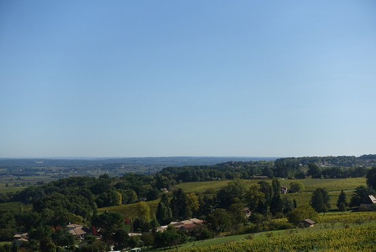 Saussignac, France: View on our walk