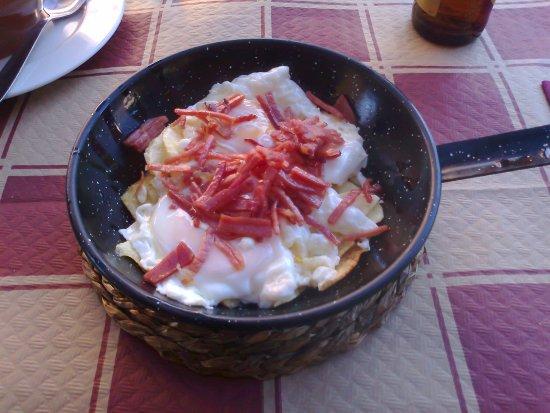 Una, Ισπανία: Huevos