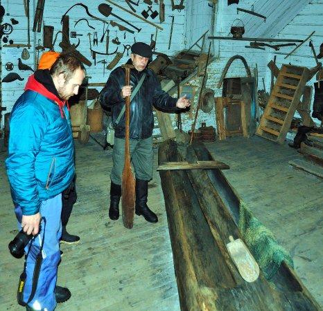 Museum Traditional Boats of Belozersk Region: В музее лодок
