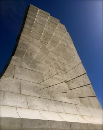 Wright Brothers National Memorial: Is is a wing or a sunrise or both? The dawn of a new era!