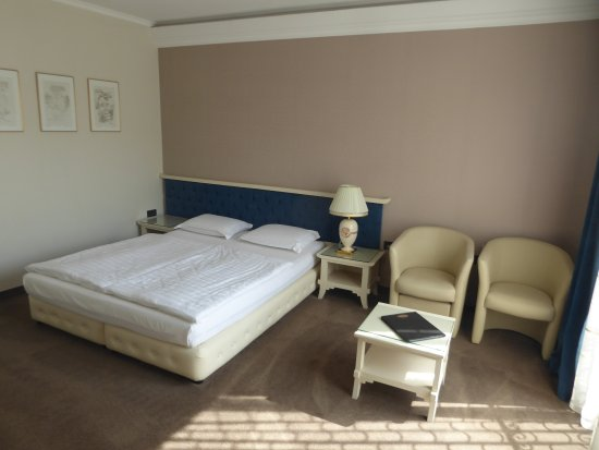Hotel  Studio: double bed and seating