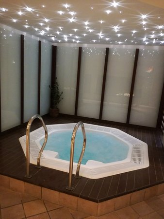 Bad Birnbach, Germany: Hauseigener Whirlpool im Spa-Bereich mit Sauna