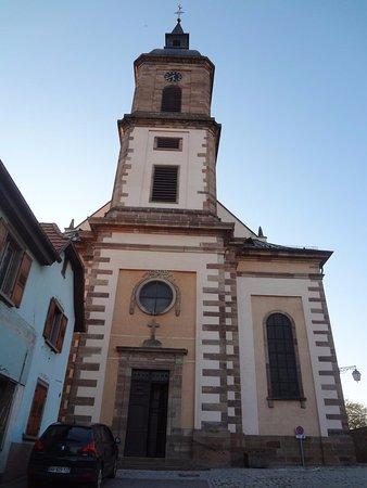 Epfig - Eglise Saint-Georges (vue extérieure)