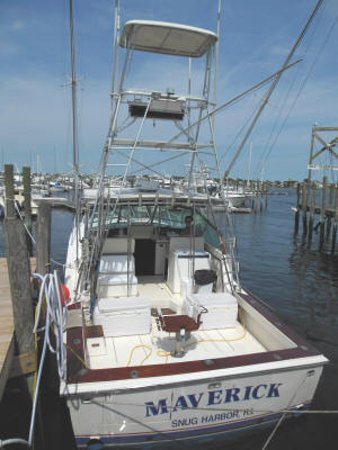 Maverick Charters : For the seasoned angler steam offshore for an exciting Bluefin Tuna, Shark, Cod or Marlin deep s