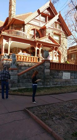 Molly Brown House Museum : Front of the museum/house.