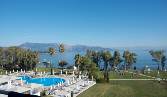TUI FAMILY LIFE Kerkyra Golf : View from balcony room 336