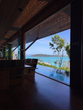 Qualia Resort: View from the Long Pavilion