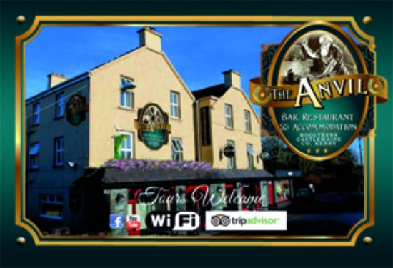 The Anvil Bar Restaurant : Our Business Card
