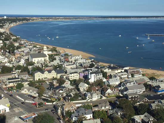 Pilgrim Monument & Provincetown Museum: View from the top!