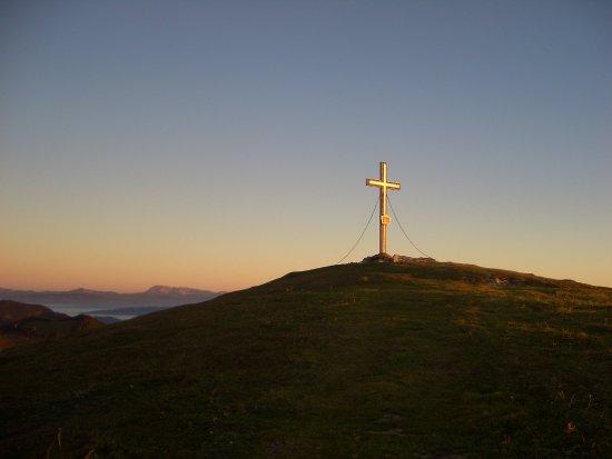 St. Kathrein am Offeneg, النمسا: Sonnenaufgangswanderung mit dem Senior-Chef