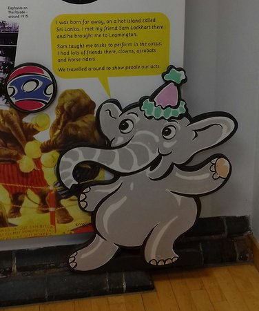 Royal Pump Rooms: Leamington Elephants in the children's section