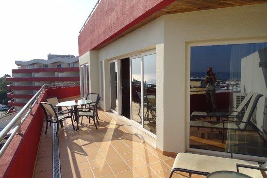 Linda-a-Velha, Portugal: terras bij suite