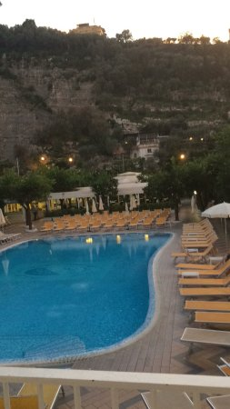 Grand Hotel Parco Del Sole: View from our room