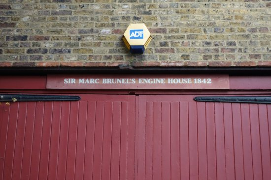 London Walks: Bruenel's engine house