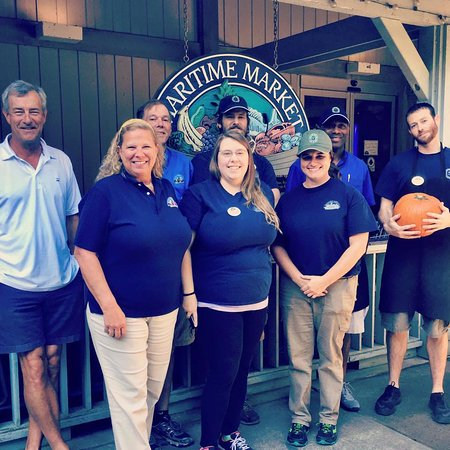 Bald Head Island, NC: Some of our amazing staff!