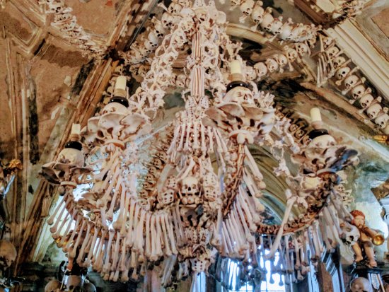 Bone chandelier picture of private prague guide day tours prague private prague guide day tours bone chandelier aloadofball