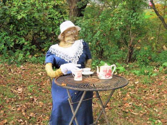 Woodstock, CT: Little lady enjoying her tea.