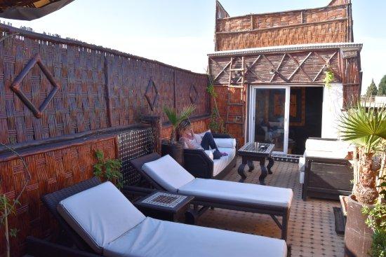 Riad Dar Najat: La Terrasse...