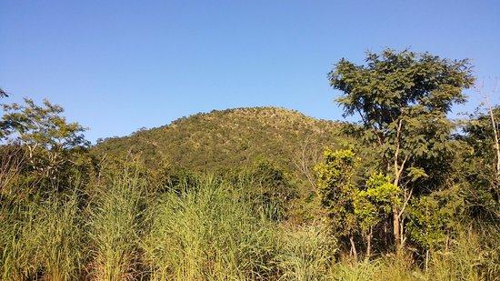 Santo Antônio do Leverger, MT: Vista da base do morro