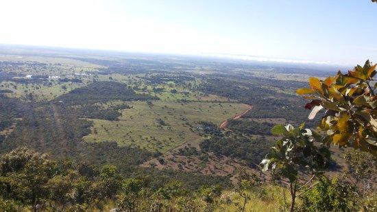 Santo Antônio do Leverger, MT: Vista do topo