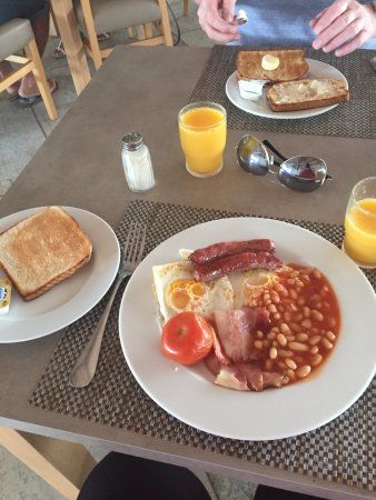 Hotel Best Maritim: Great food