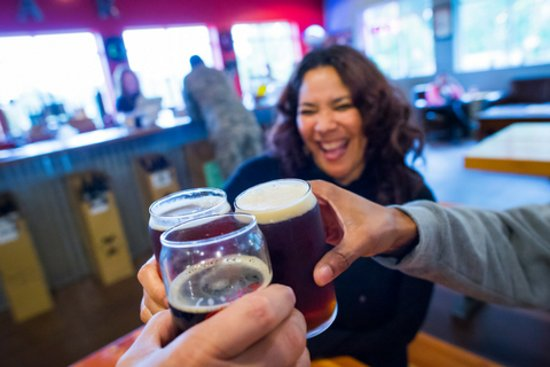 Lacey, WA: Top Rung Brewing - Photo by Ingrid Barrentine