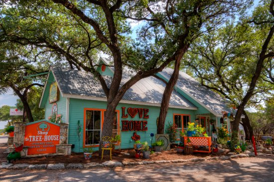 Wimberley, Τέξας: Store Exterior- Love Home (TX)!