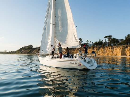 Santa Barbara, CA: Sailing along the coast