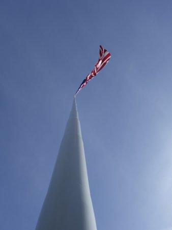 Dorris, CA: Tallest Flagpole