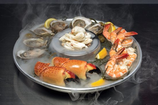 Seafood platter picture of truluck 39 s boca raton for Fish restaurants in boca raton