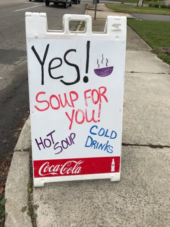 North Cape May, NJ: Soup for you!