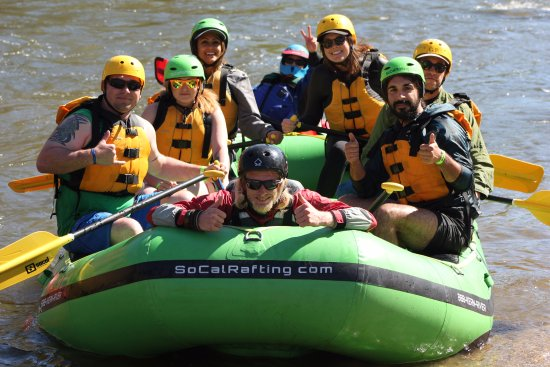 Kernville, CA: Thumbs up to a great 2017 rafting season