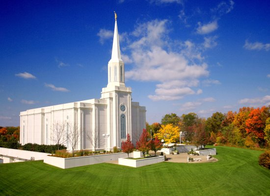 Lake Saint Louis, MO: Visitors are welcome to visit the temple's gardens and beautiful landscaping